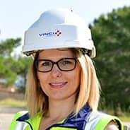 Emilie Wieczoreck, conductrice d'Opérations.